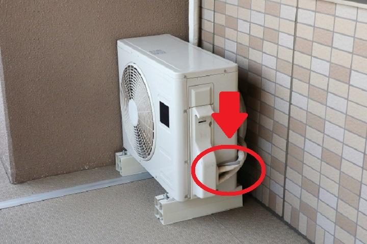 ガス 原因 エアコン 漏れ