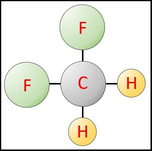 R32分子モデル