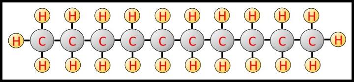 灯油化学式モデル